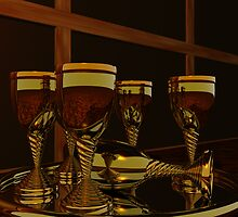 Golden Goblets by Hugh Fathers