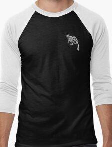Small Animal Logo - Lemur Men's Baseball ¾ T-Shirt