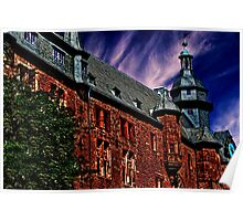 Romrod Castle Germany Fine Art Print Poster