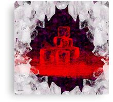 Break The Ice Abstract   Art + Products Design  Canvas Print