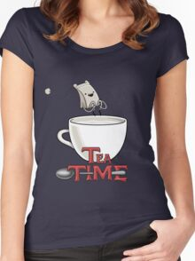 Tea Time! Women's Fitted Scoop T-Shirt