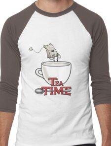 Tea Time! Men's Baseball ¾ T-Shirt