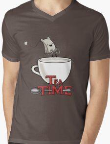 Tea Time! Mens V-Neck T-Shirt