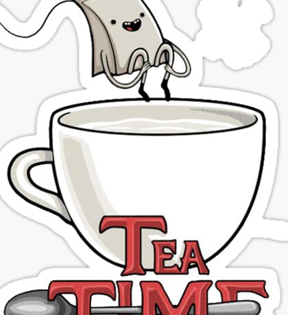 Tea Time! Sticker