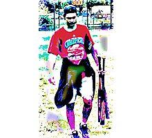 Lavendar Legs Photographic Print