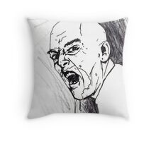 Creating The Living Dead - Part 1 - Pencils Throw Pillow