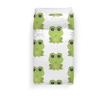 Female Frog Duvet Cover