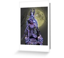 Queen Of The Vampires   Greeting Card