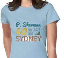 P. Sherman 42 Wallaby Way Sydney Womens Fitted T-Shirt