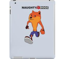 Naughty Doge 2 iPad Case/Skin