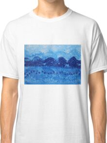 Blue Ridge original painting Classic T-Shirt