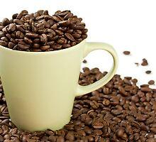 My Coffee Cup Overfloweth by psnoonan