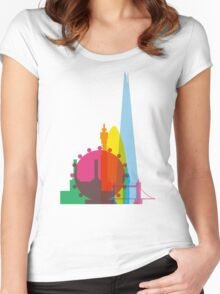 London Silhouette Women's Fitted Scoop T-Shirt