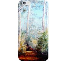 Bush Trail at the noon... iPhone Case/Skin