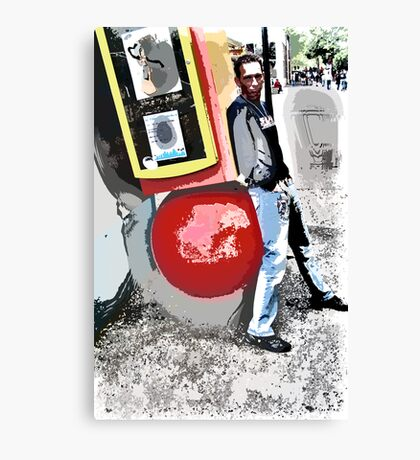 K with Red Ball Canvas Print