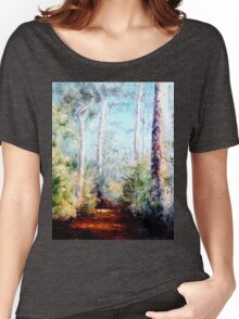 Bush Trail at the noon... Women's Relaxed Fit T-Shirt