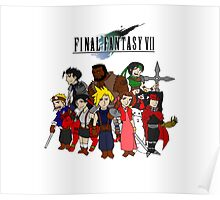 FF7 Characters Poster