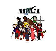 FF7 Characters Photographic Print