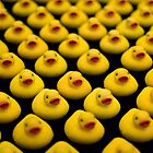 Flock of Yellow Duckies by Mark Van Scyoc