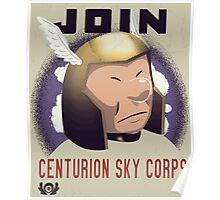 Centurion Sky Corps Poster