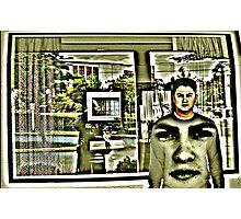 Storm Window Photographic Print
