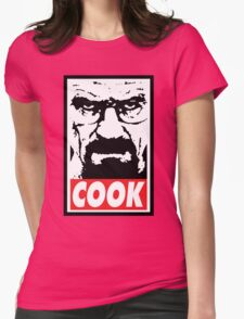 COOK Womens Fitted T-Shirt