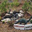 Model Sinclair/Dinoland, Replica of 1964/1965 New York World's Fair, Queens Botanical Garden, Flushing, New York by lenspiro