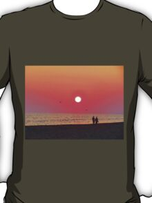 Couple Watching the Sunset T-Shirt