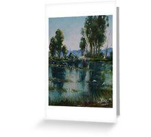 Leonard's Lagoon Greeting Card