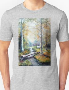 Leaving the Woodland Creek T-Shirt