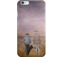 Finding our way, together iPhone Case/Skin
