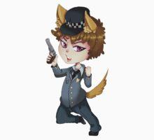 Puppy cop chibi  One Piece - Short Sleeve