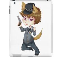 Puppy cop chibi  iPad Case/Skin