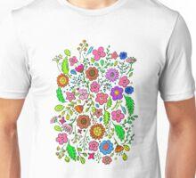 Flower Garden version2 Unisex T-Shirt