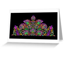 Floral Design 2 Greeting Card