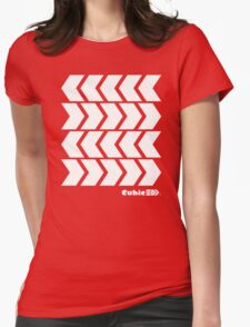Inkling's Arrowed Red Shirt - Splatoon Womens Fitted T-Shirt