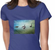 Going for a paddle! Womens Fitted T-Shirt