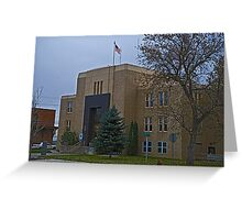 Pondera County Court House Greeting Card