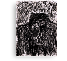 Mad Gorilla Canvas Print