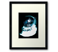 Skeleton Sorceror Framed Print