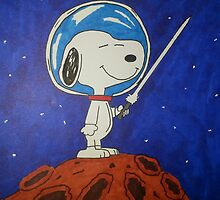 Snoopy In Space by RyanLoesch