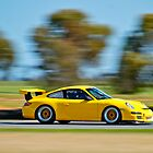 GT3 Cup car on the move by ibz777ibz