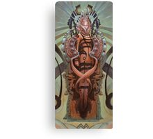 The Coffin Bloom Canvas Print