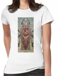 The Coffin Bloom Womens Fitted T-Shirt