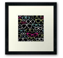 Retro Eye Glass Parade Framed Print
