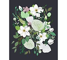 Floral Forest Photographic Print