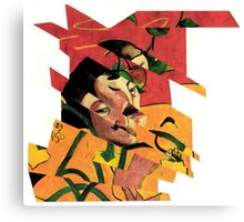 Collage Jigsaw Puzzle Piece Number 89. Canvas Print