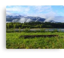 Serenity at the River's Edge Canvas Print