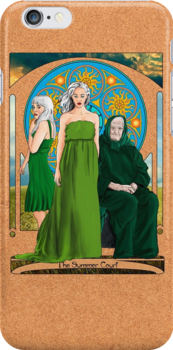 The Summer Court of the Sidhe by Nana Leonti