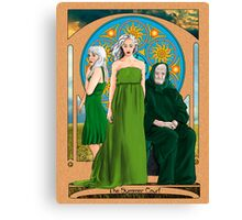 The Summer Court of the Sidhe Canvas Print